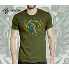 Футболка морський спецназ України Dum Spiro Spero (олива)