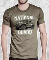 Футболка NATIONAL GUARD UKRAINE цвет хаки