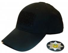 Бейсболка для полиции черная