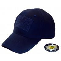 Бейсболка для поліції темно-синя
