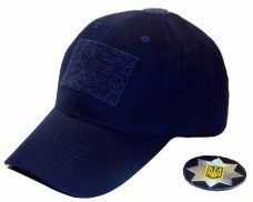 Бейсболка для полиции темно-синяя