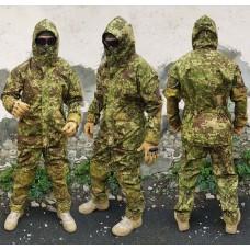 Костюм Горка в камуфляже Penkott накладки Cordura Весна-лето