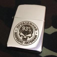 Зажигалка 93% Проблемний Потребую Лікування