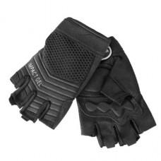 Перчатки HELIKON Half Finger Black очень легкие летние верх сетка