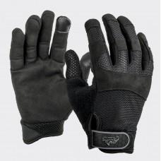 Перчатки Helikon URBAN TACTICAL LINE VENT Black очень легкие летние верх сетка