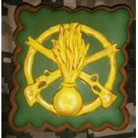 Пряник сувенірний знак Піхоти ЗСУ