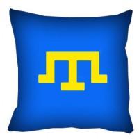 Крымскотатарская тамга декоративная подушка