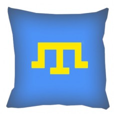 Декоративна подушка Кримськотатарська тамга