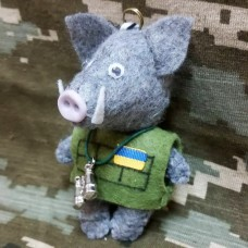 Купить М'яка іграшка Бойовий Кабан  в интернет-магазине Каптерка в Киеве и Украине