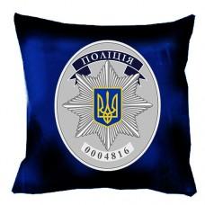 """Декоративна подушка """"Поліцейський жетон"""""""