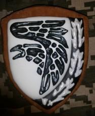 Пряник сувенірний 93 бригада Холодний Яр