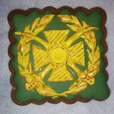 Пряник сувенірний знак Сухопутних військ ЗСУ Акція!