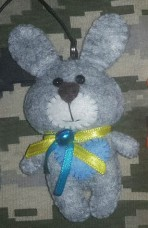 Купить М'яка іграшка Зайчик в интернет-магазине Каптерка в Киеве и Украине