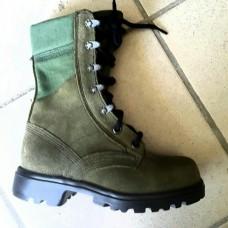 Женские ботинки с высоким берцем (армия Голландии) зеленые