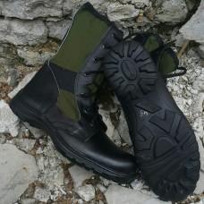 Летние ботинки облегченные Jungle Ukraine верх зеленая ткань АКЦИЯ 20%