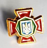 Емблема Національна Гвардія України (парадна пластик)