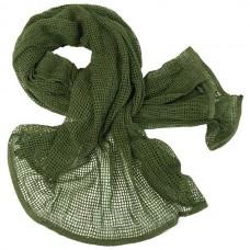 Маскировочный шарф-сетка Mil-tec 12625001 размер 190Х90см Олива