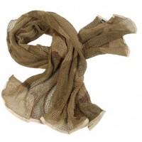 Маскировочный шарф-сетка Mil-tec 12625060 размер 190Х90см Desert