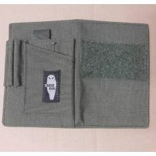 Обложка для паспорта, военного билета Cordura 500D Snow Owl олива