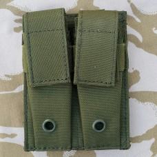 Подсумок двойной для пистолетных обойм олива GFC Tactical