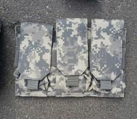 Подсумок для 3 магазинов AK камуфляж ACU GFC Tactical