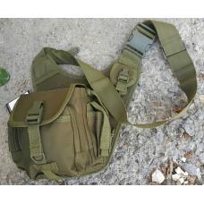 Универсальная сумка типа EDC MFH 30702B olive