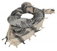 Український шемаг. З тризубом. Колір світлий KHAKI/BLACK