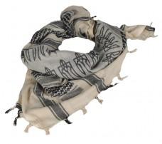 Купить Український шемаг. З тризубом. Колір світлий KHAKI/BLACK в интернет-магазине Каптерка в Киеве и Украине