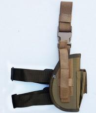Кобура для пістолета ПМ на стегно койот