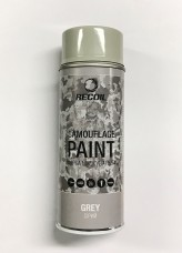Краска маскировочная аэрозольная для оружия Recoil Серая