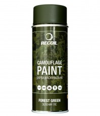 """Краска маскировочная аэрозольная для оружия Recoil """"Зеленый лес"""""""