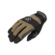 Тактические перчатки Armored Claw Kevlar тачскрин Thinsulate TAN