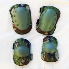 Купить Комплект наколінники і налокітники камуфляж DPM Акція в интернет-магазине Каптерка в Киеве и Украине