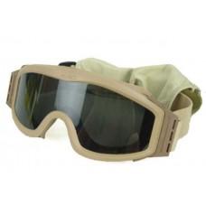 Защитная маска Комплект 3 стекла Оправа Койот