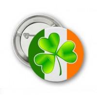 Значок Ирландия. Ирландский клевер