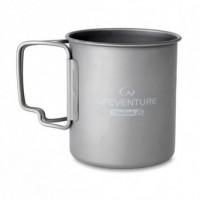 Титановая термокружка Lifeventure Titanium 450ml