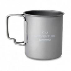 Купить Титановая термокружка Lifeventure Titanium 450ml в интернет-магазине Каптерка в Киеве и Украине