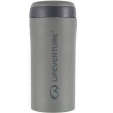 Lifeventure Thermal Mug термостакан цвет Grey Matt