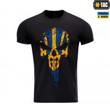Футболка Punisher M-TAC YELLOW/BLUE чорна