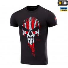 Футболка Punisher M-TAC RED/GREY чорна