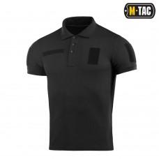 Поло M-TAC BLACK  65/35