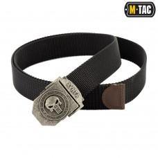 Купить Ремень M-TAC пряжка Punisher (Каратель) ХУНТА Black в интернет-магазине Каптерка в Киеве и Украине