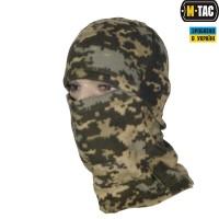 Балаклава флисовая М-ТАС камуфляж MM14 Комфорт холод ***
