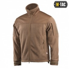 Куртка M-TAC HEXAGON ALPHA MICROFLEECE JACKET COYOTE