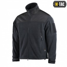Куртка M-TAC HEXAGON ALPHA MICROFLEECE JACKET BLACK
