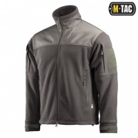 Куртка M-TAC HEXAGON ALPHA MICROFLEECE JACKET OLIVE