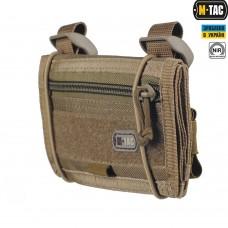 M-TAC планшет наручний з утяжкою 1000D Cordura Койот