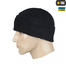 Купить Шапка флисовая M-TAC черная Комфорт холод *** в интернет-магазине Каптерка в Киеве и Украине