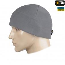 Шапка M-TAC Watch Cap фліс (330г/м2) сіра