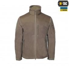 Куртка флисовая M-Tac Alpha Microfleece Jacket GEN.2 420 гм COYOTE